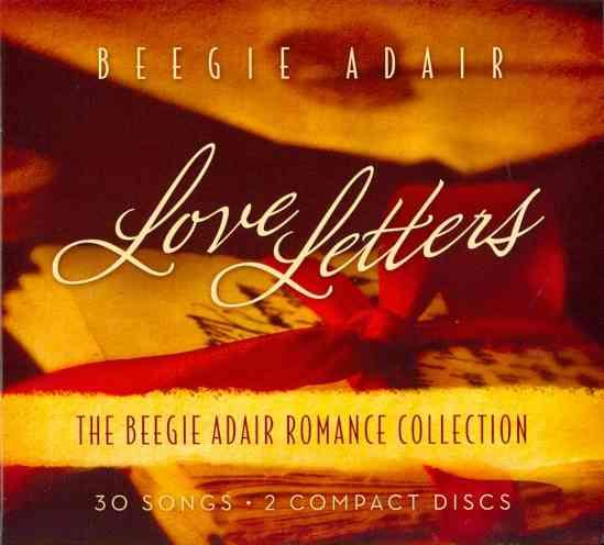 LOVE LETTERS:BEEGIE ADAIR ROMANCE COL BY ADAIR,BEEGIE (CD)